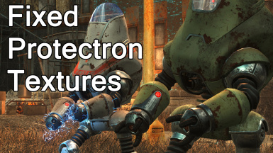 Fixed Protectron Textures