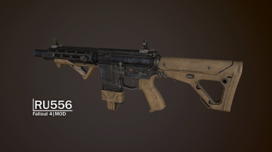 RU556 - Assault Rifle - French translation