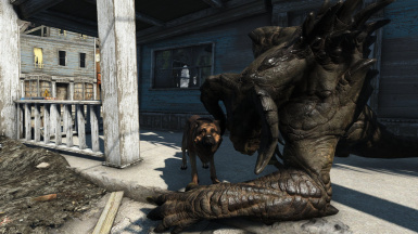 ENB plus Detailed Deathclaws
