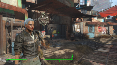 Badass Female Wastelander