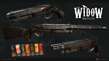 The Widow Shotgun - German Translation