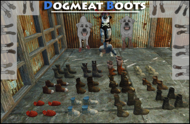 Dogmeat Boots