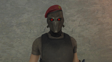 5 Merc Mask with Cap