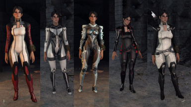 Fell Mass Effect Clothes.