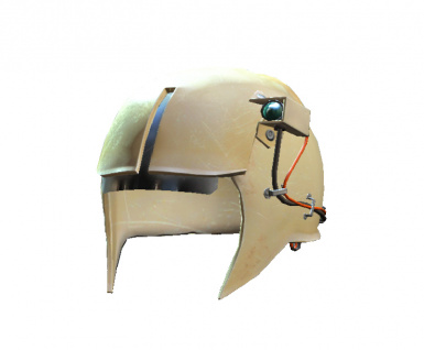 Synth Open Helmet With Headlamp