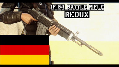 IF-54 Battle Rifle REDUX - German Translation