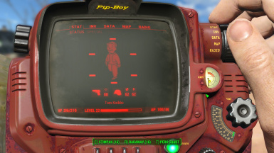 Red PipBoy Retexture