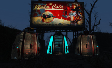 Nuka Cola Refrigerated Display Case