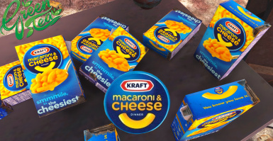 Mac and Cheese HD Texture Kraft