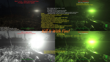 Kill It With Fire - Overhaul at Fallout 4 Nexus - Mods and community