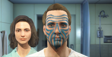 Player Face Paints
