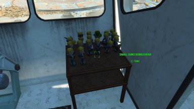 All Bobbleheads and Comic Books Vault 111 Exterior