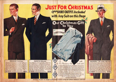1933 mens suits ad