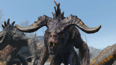Detailed deathclaws v2 - Deathclaw Matriarch
