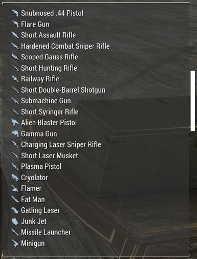Simplified Sorting - Conflict free weapon tagging with vanilla naming conventions.