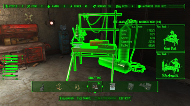 A mod-added workbench with Horizon crafting requirements