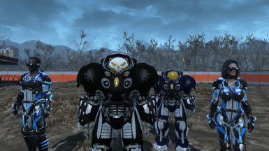 C M C Power Armor At Fallout 4 Nexus Mods And Community