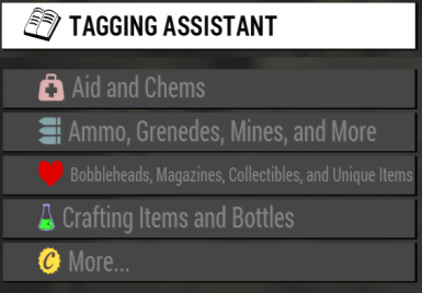 Tagging Assistant