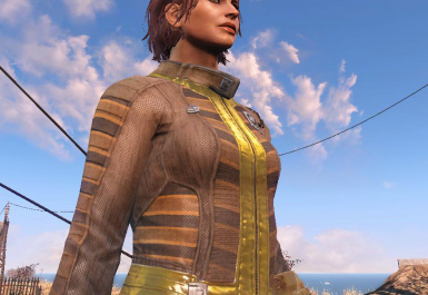 Leather New Vaultsuit (females only)