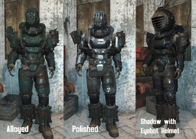 fallout 4 how to make armor modifications