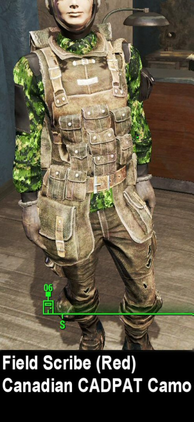 Camos for Red Fieldscribe Outfit