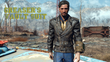 greaser s vault suit at fallout 4 nexus mods and community