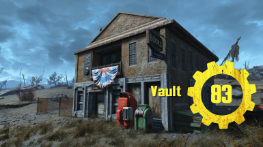 Vault 83 The Librarian
