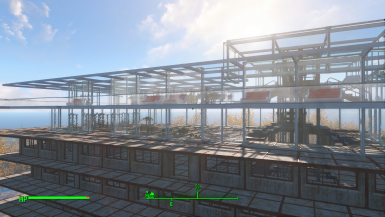 Top 2 floor greenhouse - possible expansion to 4 floors in the future V0.1