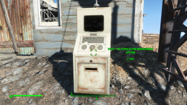 Console for easy settler management at ruined house V0.2