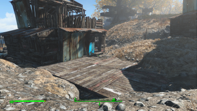 Market platform infront of communal shack V0.2