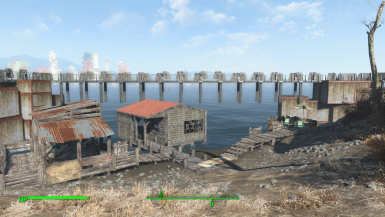 I'll live this empty and might even remove the walkway, because boathouse V0.2
