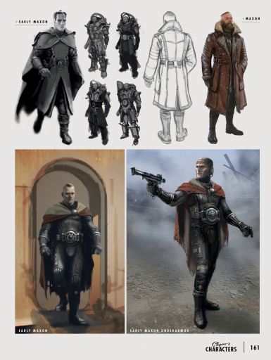 Elder Maxson - Early Concept Art