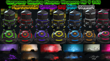 Gorgeous Glowing Plasma Weapons V 3.67
