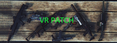 DOOMBASED Weapons Merged VR Patch