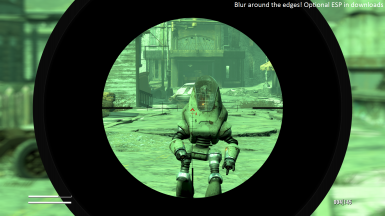 Sniper Scope Overlay And Reticles Replacement at Fallout 4