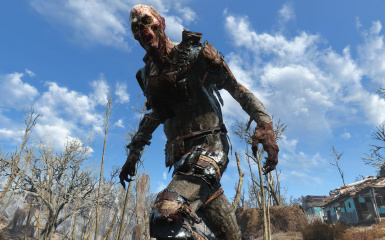 Feral Ghoul Reaver Armor HD Retexture