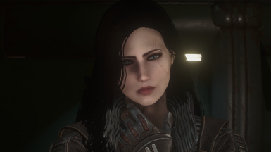 Yennefer's hair (different facial expression)