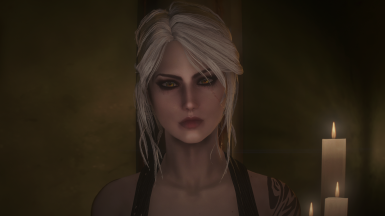 Ciri's hair/eyes/makeup