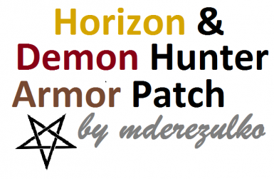 Demon Hunter Armor - Horizon Patch