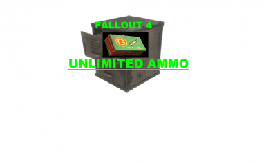 Fallout 4 - UNLIMITED AMMO (PC)