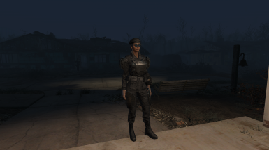 Darkened Military Fatigues