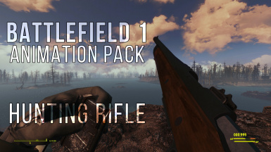 Battlefield 1 Animation Pack - Hunting Rifle