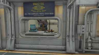 General Trader - Sold me lot of raw steel to build this vault