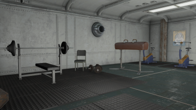 Update 1.4 - Bigger and relocated Gym