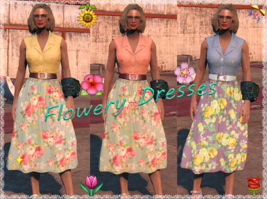 Flowery Dress Tweaks