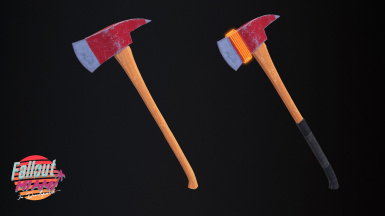Fire Axe - A Standalone Melee Weapon