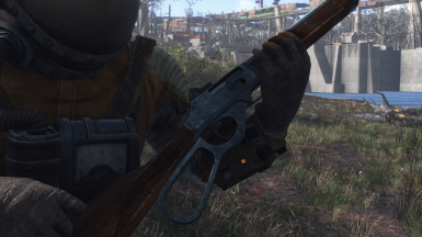 Lever Action Animation : Right handed far harbor lever action replacer at fallout