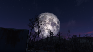 Larger Moon