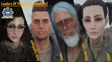 Leaders Of The Commonwealth - A Sim Settlements Add-on at