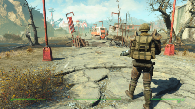 Patrolling Nuka World makes you wish for a nuclear winter